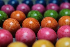 Foto: gefärbte Eier