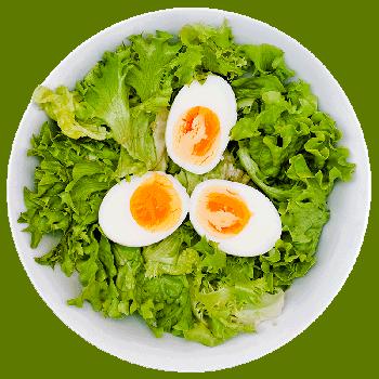 Foto: Salat mit Ei